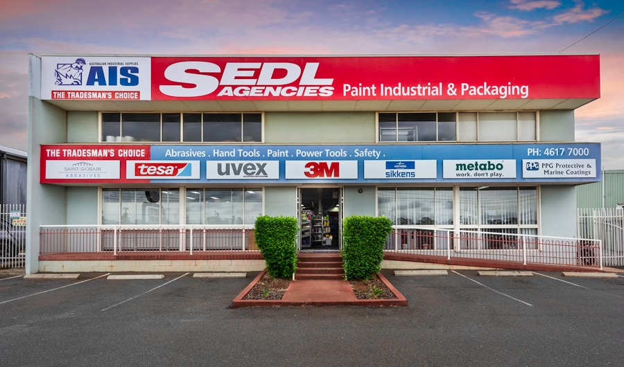 SEDL agencies Toowoomba: Paint, Packaging, Safety, Industrial, AIDCO, and more