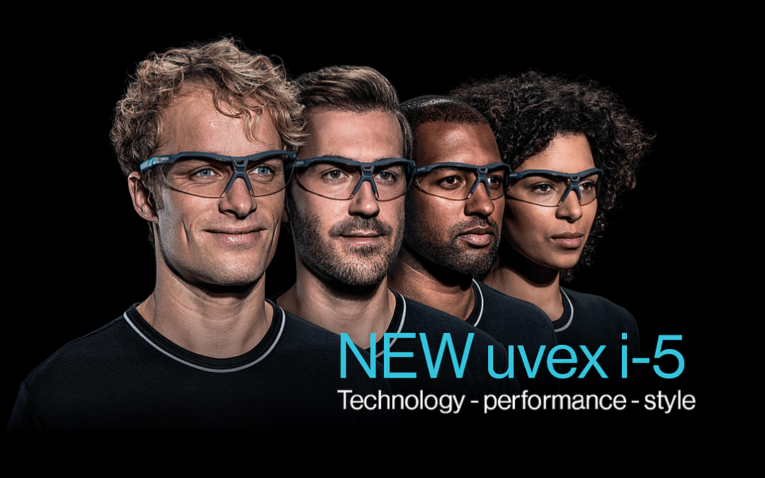 New uvex i-5 Safety Glasses