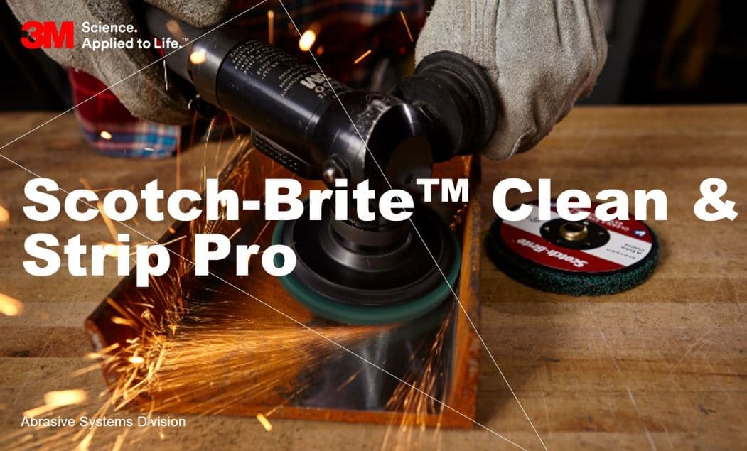 The Next Generation of Scotch-Brite Clean and Strip Discs